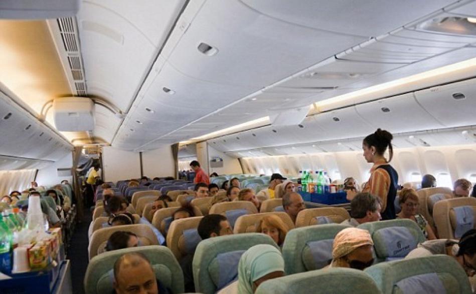 Jurking Off during Flight